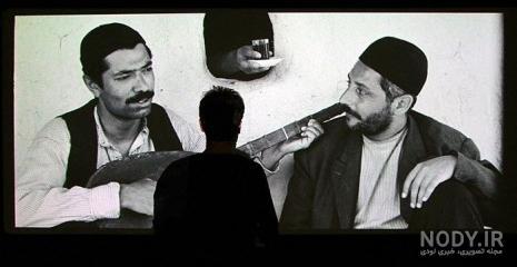 عکس جمشید مشایخی در فیلم گاو