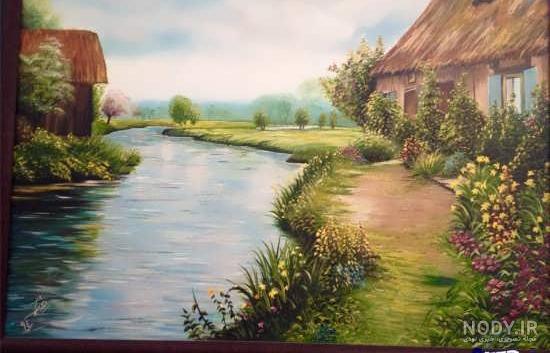 ایده برای نقاشی طبیعت