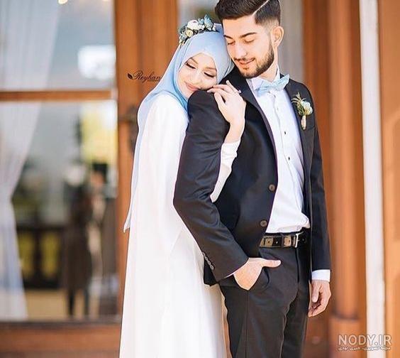 عکس عاشقانه حجابی