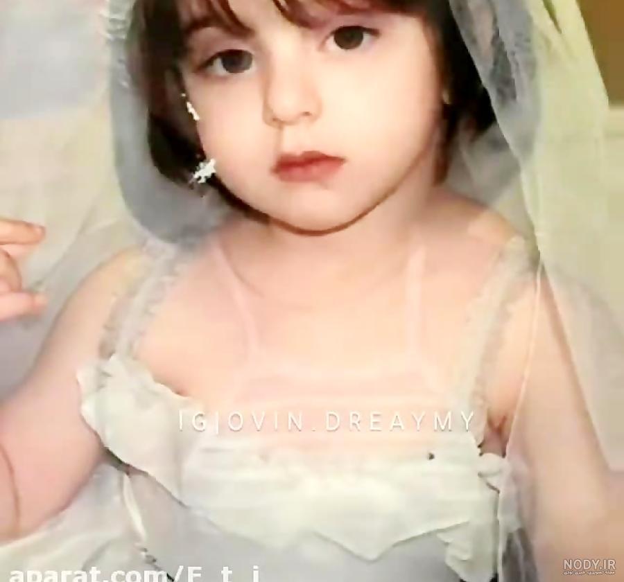 عکس نیکا فلاحی کودکی
