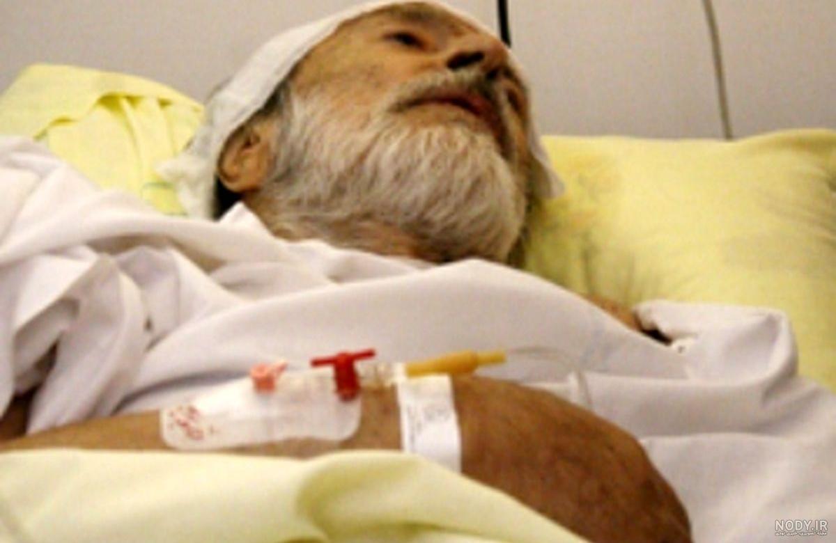 تصاویر ایرج قادری در بیمارستان