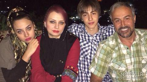 تصاویر دانیال حکیمی و خانواده اش