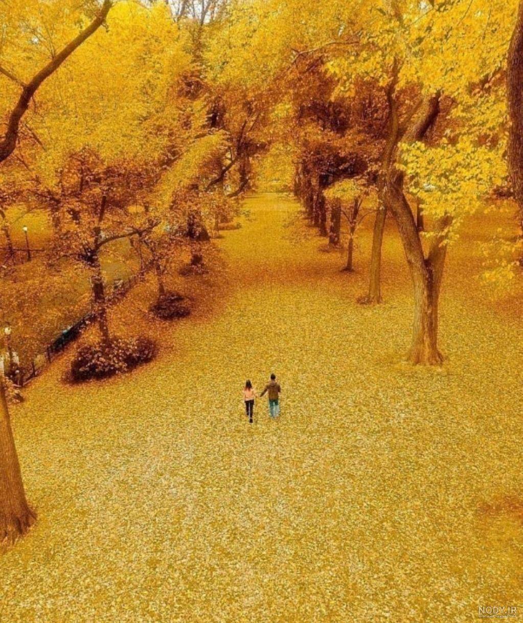 عکسهای پاییزی عاشقانه