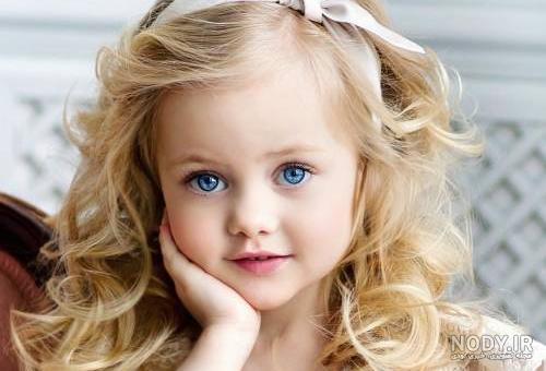 عکس بچه ی خوشگل دختر