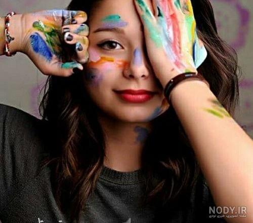 عکس پروفایل دخترونه هنرمند