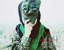 عکس پروفایل دختر نظامی ایرانی